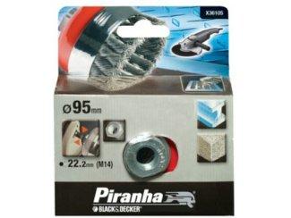 Piranha komstaaldraadborstel M14 100 mm X36105