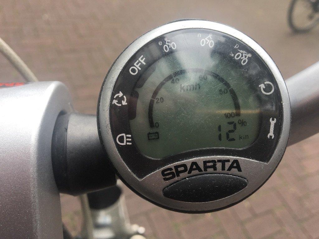 Elektrische fietsen Leuke elektrische dames ( Sparta ION, Comfort dix.