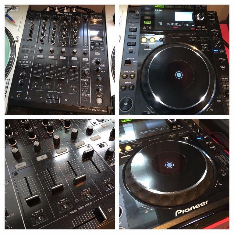 Studio & Recording 2 Pioneer Cdj 2000 + Pioneer Djm900 Nexus Mixer