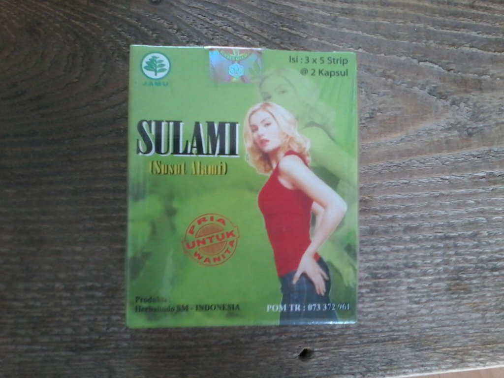 Uiterlijk en Verzorging Susut Alami Sulami