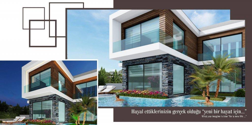 Huizen Turkije KUSADASI NDA MALIKANE PROJESI BASLADI (Turkije).