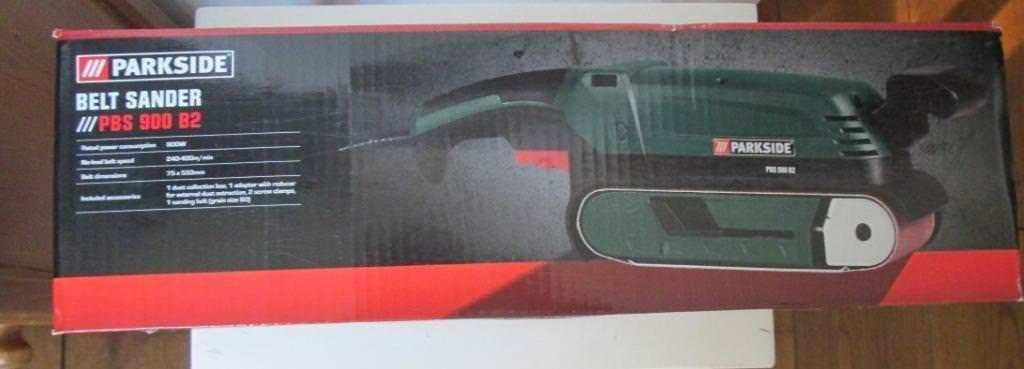 Gereedschap Elektrisch Bandschuur Machine 900 w Parkside