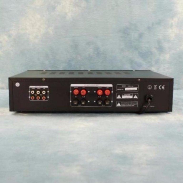 Versterkers HiFi versterker 2 x 80 Watt Rms Zwart (7030-B)
