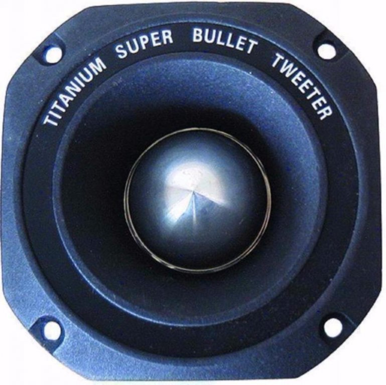 Versterkers Ring radiator tweeter Titanium 200 Watt X12 (122-D)