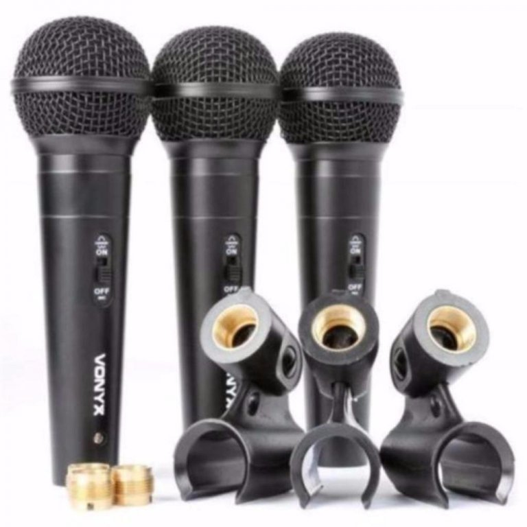 Microfoons Microfoon set 3 stuks in koffer VX1800S (450-T)