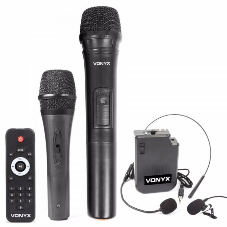 Speakers Mobiele 15 Inch speaker UHF headset en microfoon (338-T)