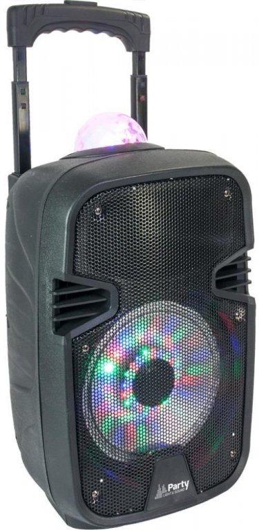Luidsprekers PARTY-7ASTRO Mobiele Speaker 8 inch 300Watt (6110P-B)