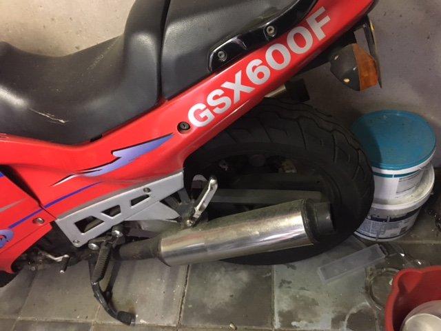 Motoren | Super Sport Suzuki GSX 600 F
