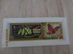 vintage wanddecoratie schilderijtje is op hout gedrukt/geprint