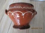 vintage stenen sier pot handgemaakt