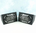 Lightning Audio 6x9 Speakers in Mdf behuizing 2x 150Watt