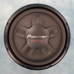 Pioneer 12 Inch subwoofer 4 Ohm 1400 Watt.(W311S4)