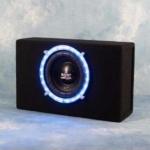 Boost storm Bleu Neon 8 Inch Subwoofer 300 Watt
