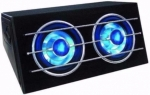 Blue Moon Subwoofer 1200 Watt LED-Verlichting,