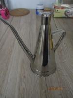 Schenk kan of gieter van rvs /aluminium, 21 cm hoog