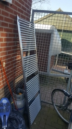 Douche handdoeken radiator