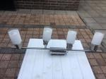 Plafondlamp runner rondmodel-4-lamps-rvs
