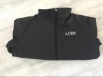 Een leuke Armani Jeans jas - black Maat (XLL)