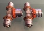 Uponor MLC pers T-Stuk 16 mm x 20 mm x 16 mm (2 Stuks).