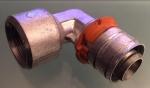"""Uponor Press knie 90°Binnendraad 20mm X1/2""""Binnendraad (1X)."""