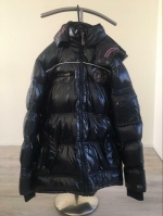 Winterjas Donkerblauw TWINLIFE APPAREL ASSOC Capuchon