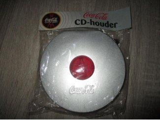 CoCa Cola item CD /DVD Houder geheel in plastic en nieuw