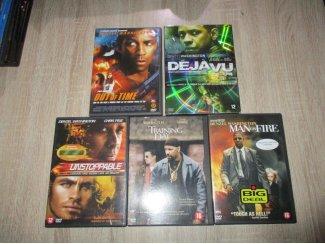 5 DVD afilms denzel washington zgan. Verzenden mogelijk
