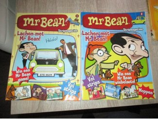 2 mr bean stripboeken in goede staat