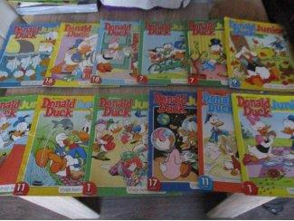 Walt Disney Donaldduck 18 boekjes in goede staat