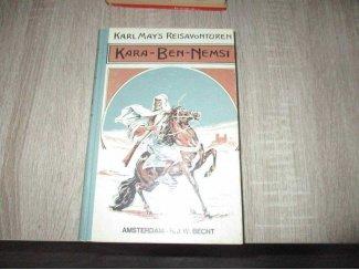Kara-Ben- Nemsi reis avonturen boek van Karl May