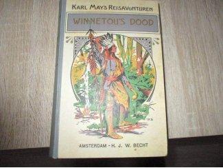 Karl May`s reis avonturen boek, Winnetou`s dood,