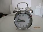 mooie wekker met alarm retro stijl, werkt op batterijen