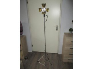kunst decoratie lamp, vintage/brocante design lamp