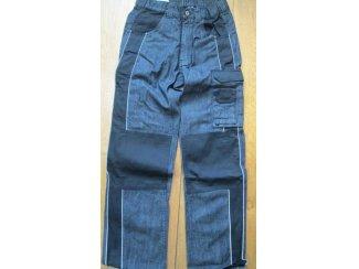 werkbroek merk powerfix kleur blauw jeans spijkerstof