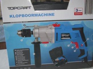 Klopboormachine topcraft 1050w nieuw