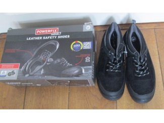 Leder Werkschoenen veiligheids schoenen mt 41 hoog / laag