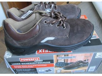 Leder Werkschoenen Veiligheids- schoenen mt 42 Laag