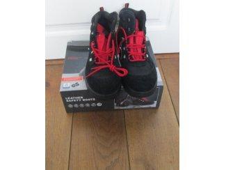 Leder Werkschoenen Veiligheids- Schoenen mt 45 hoog