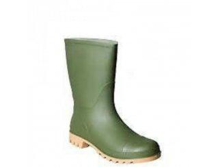 Rubber laarzen groen/ zwart maat 41-42-43 nieuw