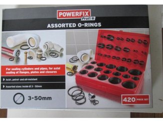 420 delig o ring set powerfix nieuw