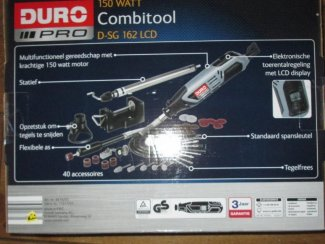 40 Delige Combimachine Duro Pro Nieuw