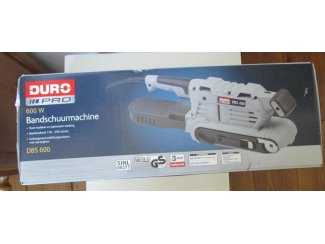 Bandschuur machine 600 w duro