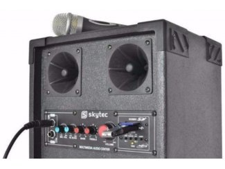 Actieve Karaoke speakers Usb ,Sd 300 Watt (444T)