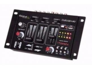 4 Kanalen mengpaneel met USB (2046-B)