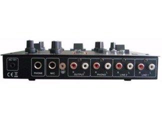 Tafel mixer met USB en Sd en Effecten (2378-B)