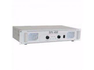 SPL 400 2x 200Watt Versterker Wit (789-T)