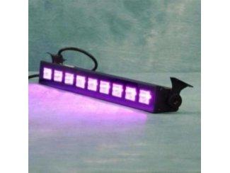 UV Blacklight 9 x 1 Watt LED Grote lichtopbrengst (1288-B)