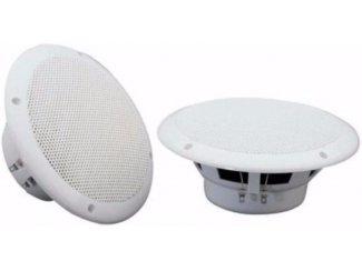 Marine Speaker 16,5 cm Set 8 Ohm, Wit (063-T)