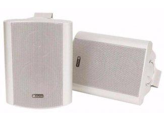 Actieve 2-weg speakerset - Wit 100Watt (175-T)