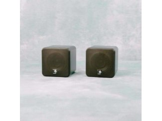 4 Inch dual cone mini luidsprekerbox Zwart (B406AKJO)